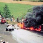 Niki Lauda, ayer y hoy. A 39 años del terrible accidente en Nürburgring. http://t.co/QVpTtWHx7G