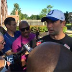 Players arrive at #ColtsCamp excited for start of training camp. #WTHRcolts http://t.co/xDDUPMKugO