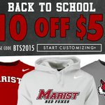 Get shopping for some new #Marist gear! Sale runs all month... http://t.co/1XHnxUhDfo http://t.co/bMKqreIRli