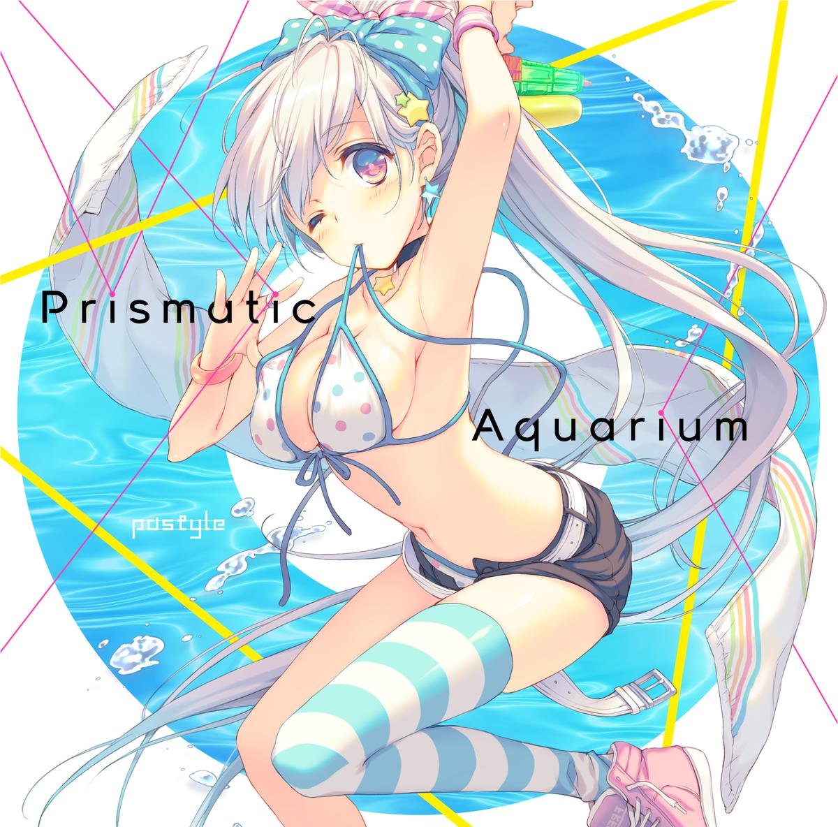 メロンちゃんでも予約始まってるのでおねがいします。トラックリストで全員Vocalになってますが気にしないでくださいね!!ね!!! Prismatic Aquarium(pastyle)  https://t.co/4WwppFNtKU http://t.co/4O9dtRlVso