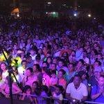 Santiagueños gozaron anoche mucho con la Tarima Artística en La Placita de Santiago,¡Celebrando las fiestas de calle! http://t.co/xdgOOr2T4U