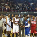 Africa thats a wrap! The first ever #NBAAfricaGame games ends with a 101-97 victory for Team World! http://t.co/rpkxjVLJts