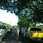 Cierre de vías a la altura de Guabito, Bocas del Toro. Residentes llevan 4 días sin agua.@TReporta @GAEDPanama http://t.co/JumTxujB8T