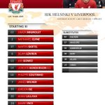 Heres todays confirmed #LFC team and subs in full on our matchday graphic http://t.co/PRXrUUl08G