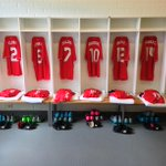 PHOTOS: A glimpse inside the #LFC dressing room at the Olympic Stadium in Helsinki http://t.co/tEVc3ixOjv