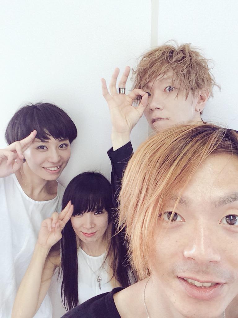 日がかわってしまいましたが 8月1日、真空ホロウ@ROCK IN JAPAN FES、パークステージ暑い中皆さまありがとうございました!!!楽しかったです◎ http://t.co/KWwiLGn5rK