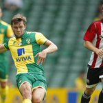 FULL-TIME | #ncfc 2-1 #bfc. Goals from Hoolahan & Jerome ensure victory vs @BrentfordFC. http://t.co/bh05gi23od