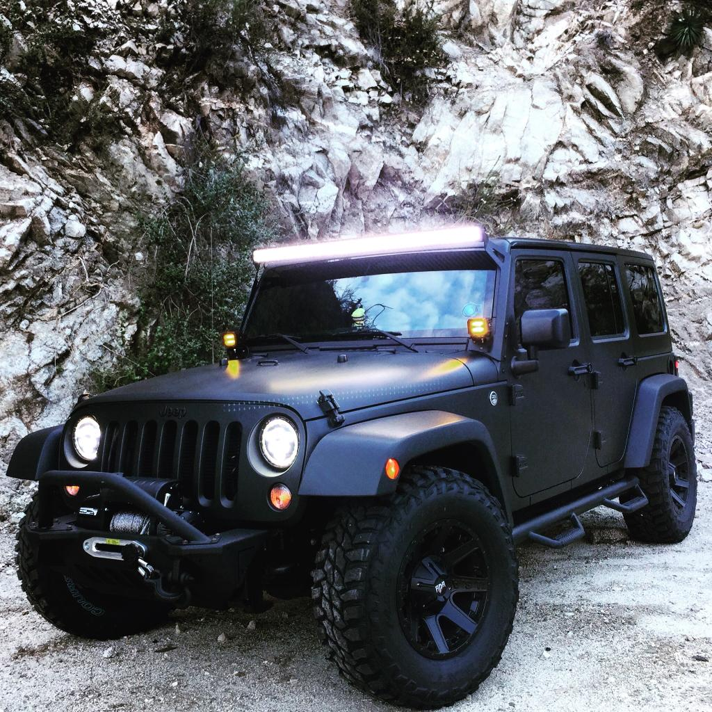 Joseph H. built his Wrangler to tackle any road that comes his way. #Jeep #Weekend http://t.co/c7zmyH8dc7