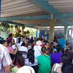 Misa en honor a la Virgen en Playa El Salado Aguadulce, patrona de los pescadores...@tvnnoticias @MiDiarioPanama http://t.co/mdo9lOuhmi