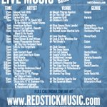 Saturdays live music lineup in Baton Rouge, Louisiana! #GeauxListen - info on events at http://t.co/5v6E7g3iql ♪♬♪ http://t.co/HAEBKNLuom