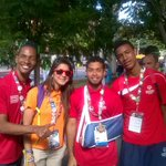 Beautiful team #Panama on its way to downtown #LosAngeles #LA2015 @oepanama ????????????❤ http://t.co/Y6OJ75irkW