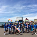 A long and rewarding day for the staff and families who represented the Club in todays Pride Parade! #BrightonPride http://t.co/KiEtMmK8GV