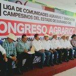 Presente en el Consejo Agrario de la @CNC_Durango rumbo al Congreso Agrario 2015 #JuntosTransformandoElCampo http://t.co/ZCbc78bUeI