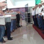 Nuestro Srio Gral @ruben_escajeda toma protesta al Consejo Técnico Consultivo de la CNC, encabezado por Pedro Silerio http://t.co/QMvjeadte0