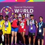 Cristina Quintana se viste de oro en 200 metros   atletismo. ¡Felicidades Cristina! #panama #SpecialOlympics http://t.co/kie1F77MTD