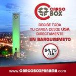 .@CArgoBoxPV Servicio #PuertaPuerta de USA, Panmama a BArquisimeto, mas Información en http://t.co/NVTNwikCgm http://t.co/iwK2IqKqUr