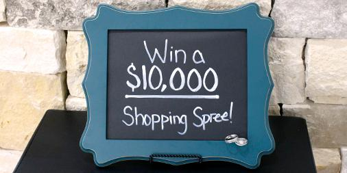 Announcing a New #Sweeps! We're giving away a $10K shopping spree! Enter & see details: http://t.co/tNqXvITUQO http://t.co/FX21gjoSkl
