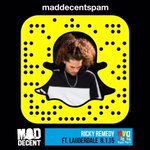 Im doing a snapchat takeover for #MDBP2015! follow @maddecent on snapchat: maddecentspam going live at 3PM! http://t.co/a3YwviDkkU