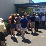 There must be a couple hundred people waiting in line for BBQ at #fancyfarm http://t.co/KugOpy2q84