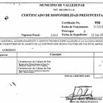 Un contrato de 1.400 millones solo para paz en alcaldía de Valledupar. #SpringerCorrupta http://t.co/vQoYgmTqLP