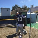 .@TankLawrence heading out to this afternoons practice #CowboysCamp http://t.co/mGiNTSD8h1