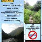 #Colombia mañana en #Cabrera Caminata Ecologica en defensa del territorio. @ShameelThahir @CastillaSenador @teleSURtv http://t.co/kicZrn2iiK