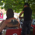 #Durango en la piel se desarrolla en el pasillo principal de #FENADU2015 http://t.co/F7cUv5mrgo