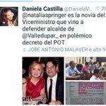 Esta @nataliaspringer resultó haciendole competencia a #Montealegre en contraticos torcidos. #SpringerCorrupta http://t.co/nFEwoRRyLS