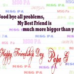 @Gurmeetramrahim #FriendshipDayWithMSG PAPAG U R MY TRUE MESSENGER BEST FRIEND ???? http://t.co/zuAGAFHLzk