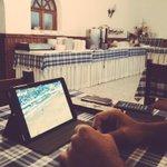 La gioia di tifare @OfficialASRoma in Portogallo, ma dalla sala colazione... #SportingRoma http://t.co/5r7lmfAQeq