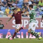 Ecco alcuni scatti del primo tempo di #SportingRoma http://t.co/72MmFsb9cd