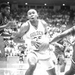 Weatherspoon was the first Golden Eagle to have his jersey number (35) retired! #SMTTT http://t.co/fZc8j45ja9