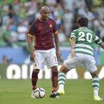 Riprende il gioco qui a Lisbona: si riparte dallo 0-0. Forza ROMA! #SportingRoma http://t.co/l8a2aOipXN