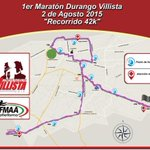 Por último te mostramos el recorrido de los 42k del #MaratónDurangoVillista2015 #Precaución @FENADUoficial http://t.co/WrtDGG3UFi