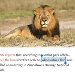 What type of animal is Cecil the Lions brother again? http://t.co/oVHxR7dr7A