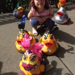 Fun today at @norwichduckrace for @breakwriter http://t.co/ycImoWuRBv