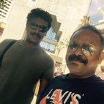 Having fun in #LA with my bro director/actor samuthirakani