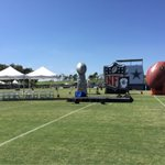 About to get started at the 2015 #CowboysCamp Opening Ceremony! http://t.co/XxtarFwJsR
