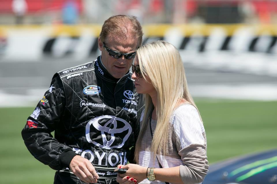 .@Kenny_Wallace made my 1st season in NASCAR a memorable 1 & set the bar high! Excited to be here for the last race