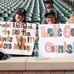 #SFGiants fans repping in Texas ???????? http://t.co/tVKEqJpNjH
