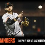 .@bcraw35 and the #SFGiants take on the Rangers in Game 2 of the series. http://t.co/5lnL3sri9b http://t.co/T0fqJGX6yF