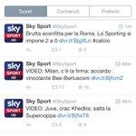 """-""""Brutta sconfitta della Roma.Lo Sporting si impone 2a0."""" -""""Amichevole estiva,Marsiglia-Juventus 0-2"""" @SkySport http://t.co/NaMu1q79Pl"""