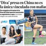 Lea en @ELTIEMPO: Diva presa en China no es la única vinculada con mafias. Dos exjugadoras figuran en rastreo a capos http://t.co/8XHVPA9tUU