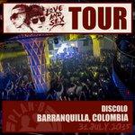FULL TOTÁL anoche en @discolobaq #Barranquilla #Colombia gracias por el cariño! http://t.co/bxnbZPA1aT