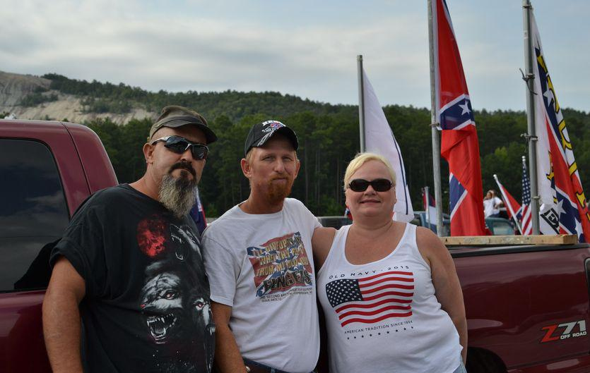 Stone Mountain Confederate flag rally about 'heritage', not hate, participants say