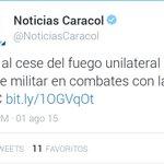 ¿Entonces que @JuanManSantos ? Clara violación del Cese al Fuego, que vas a hacer? http://t.co/1rxoMckYgF http://t.co/29UBHvRsF7