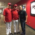 With @Reds skipper Bryan Price and Elizabethtown native Nate Adcock. http://t.co/yE3YTn4AXy