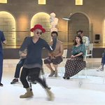 ICYMI: G-Dragon, Taeyang, Zion.T, and IU show off their moves on Infinity Challenge http://t.co/IaMYZquQAM http://t.co/g4aDFbc6sL