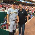 Fun talking with former @UKBaseball star Joe Blanton before the game tonight. http://t.co/uEqSz1YF4T