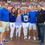 Garren Colvin, CEO of St. Elizabeth Healthcare, and his family Kylie, Hannah, Emily and Nick. http://t.co/wkzQNyl4Mj